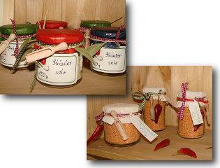 Herzhafte Geschenke aus der Küche-Gesundheitsberatung Kathrin Homann
